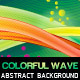 Colorful Wave Abstract Background - GraphicRiver Item for Sale