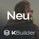 Neumail - Responsive Email Template + Kbuilder 1.0