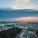 Top View On The Morning City Of St.-Petersburg