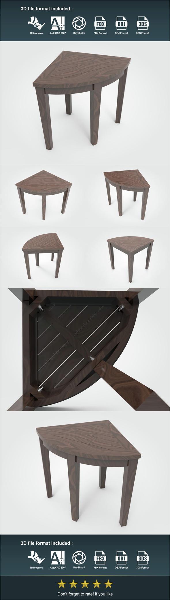 Corner Chair  - 3DOcean Item for Sale