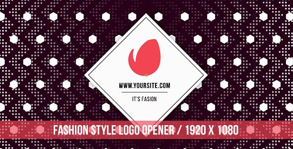 Fashion Style Logo Opener
