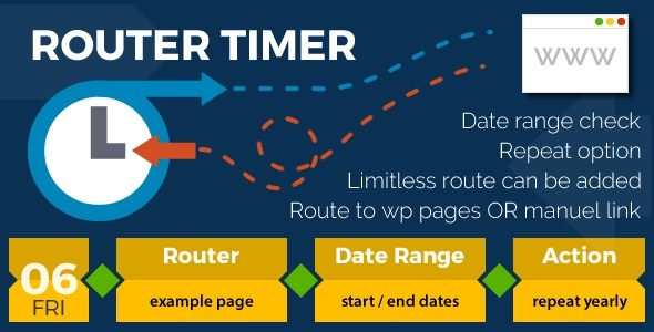 CodeCanyon WP Router Timer 15224281