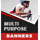 Modern Multipurpose Banners - Animated HTML5