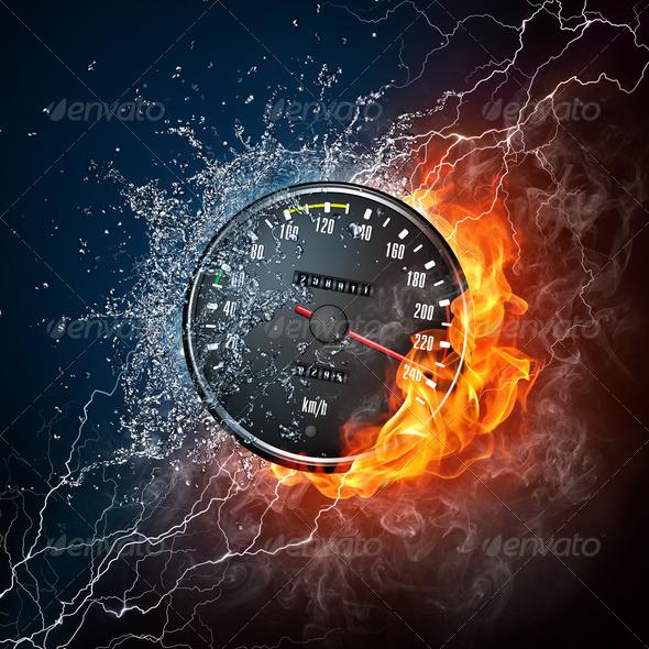 PhotoDune Speedometer 1523375