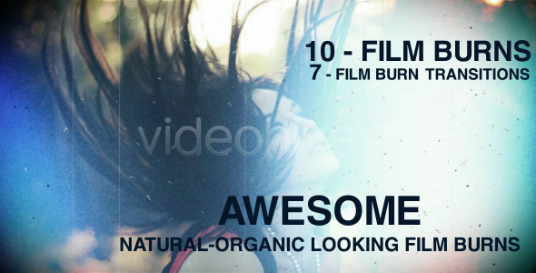 VideoHive Film burns pack 1521691