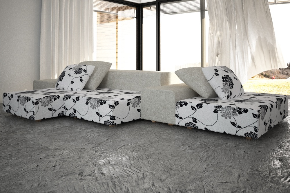 Extra Wall Sofa by Living Divani by ratulo  3DOcean