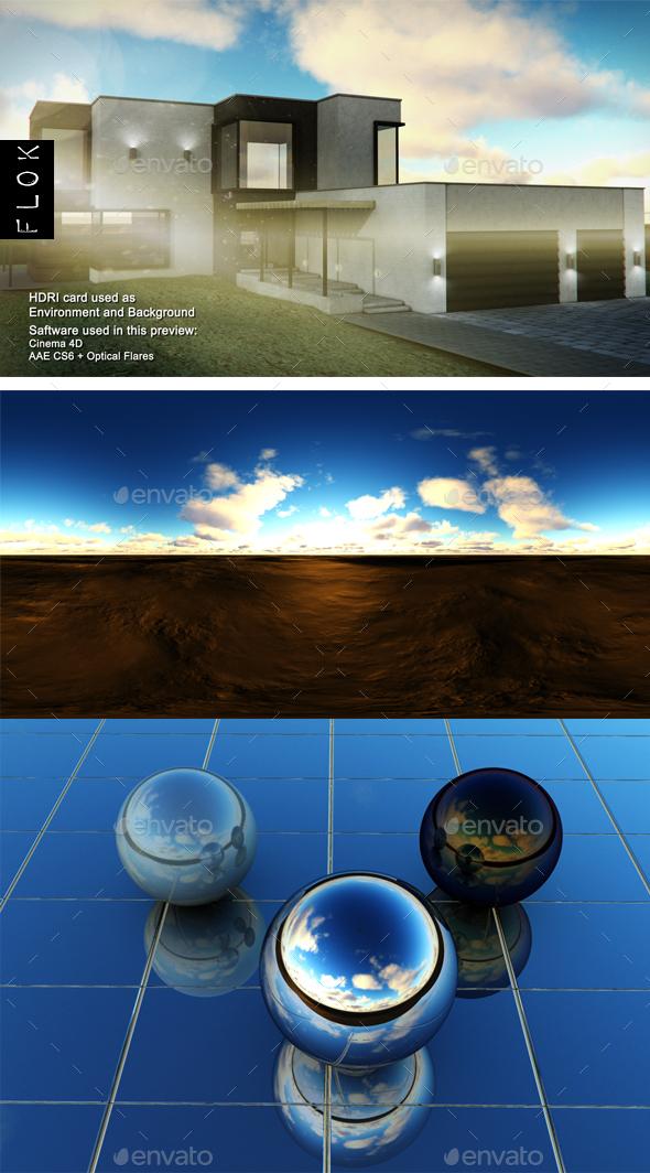 SunsetDesert 51 - 3DOcean Item for Sale