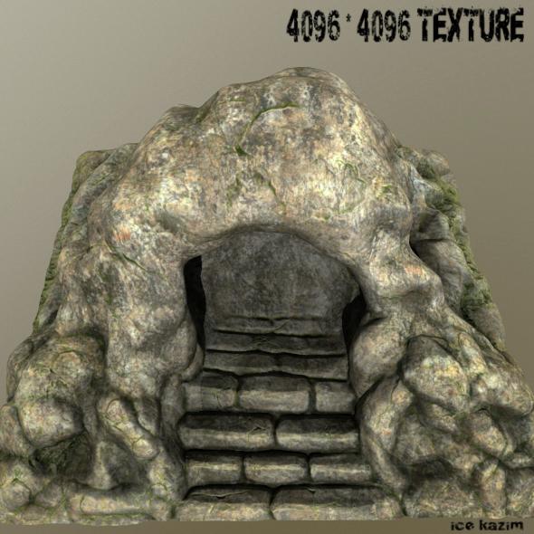 Tomb_of_Jesus - 3DOcean Item for Sale