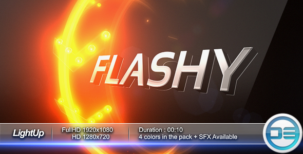 After Effects Project - VideoHive LightUp 3D Logo Intro 180025