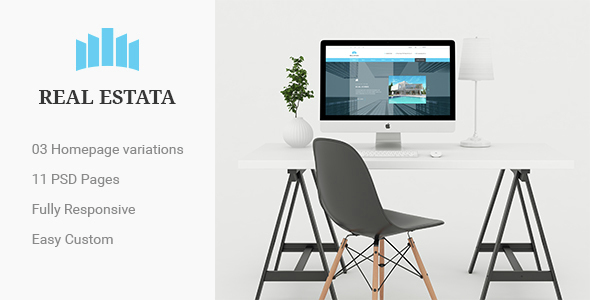 REAL ESTATA - Real Estate PSD Theme
