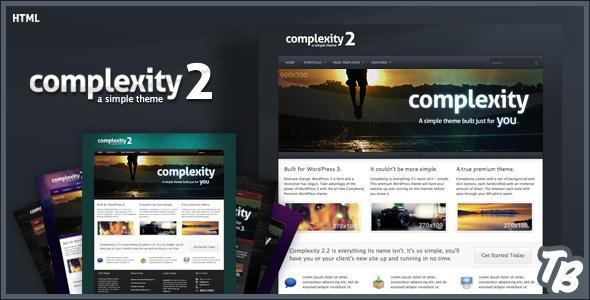 Complexity Premium HTML Theme