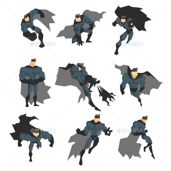 Superhero in Action