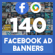 Facebook Ad Banners - 140 Banners