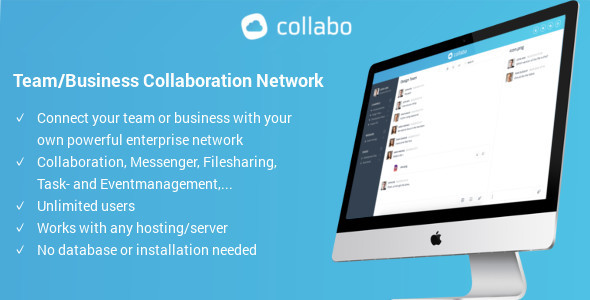 Download Collabo - Team/Business Collaboration Network nulled download
