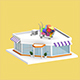 Low Poly Supermarket