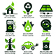 Eco Flat Symbols