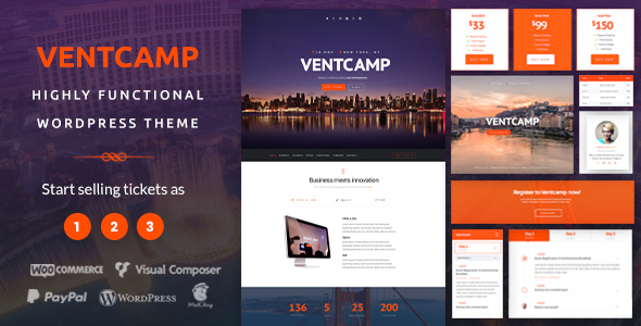 Download Ventcamp - Event and Conference Theme nulled download
