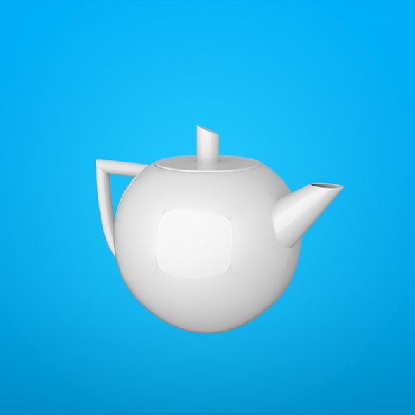 Teapot Leopold - 3DOcean Item for Sale