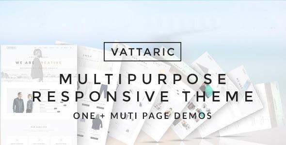 Vattaric - Multipurpose Responsive Drupal Theme