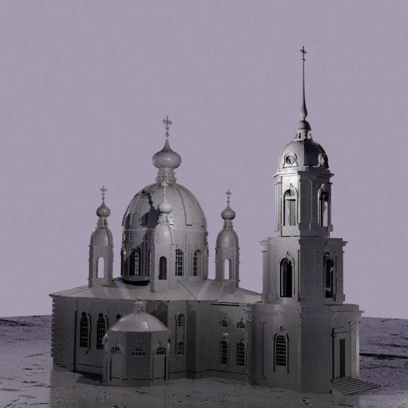 Orthodox Church - 3DOcean Item for Sale
