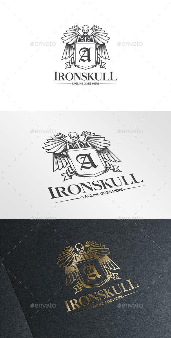 Iron Skull Logo