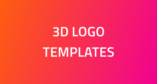 3D Logo Templates