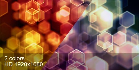 Stock Video - VideoHive Hexagons defocus 180135