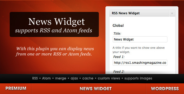Image result for WP News feed widget