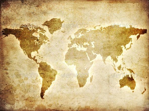 PhotoDune World Map 1525309