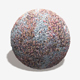 Blue Gravel Red Weeds Seamless Texture