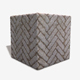 Drying Floor Bricks Seamless Texture