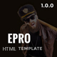 ePro - Multipurpose Ecommerce Template with RTL version