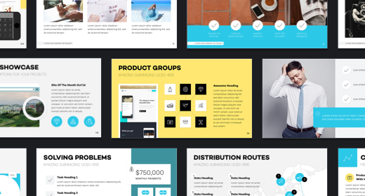 The Best Business and Corporate Presentation Templates in 2016