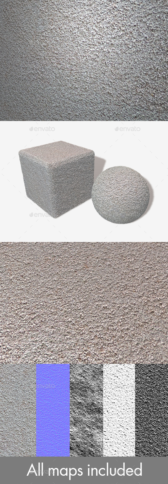 Textured Wall Seamless Texture - 3DOcean Item for Sale