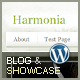 Harmonia - Showcase and Blog Wordpress Theme - ThemeForest Item for Sale