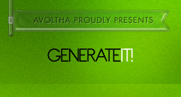Generate It!