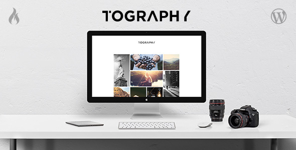12 - Tography - Photography Theme