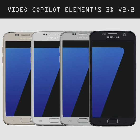 Element3D - Samsung Galaxy S7  - 3DOcean Item for Sale