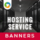 HTML5 Hosting Banners - GWD - 7 Sizes