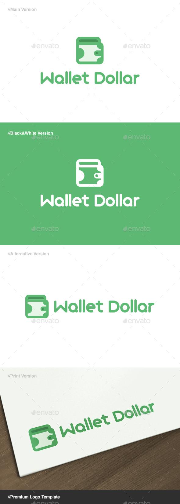 Wallet Dollar Logo