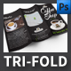 Coffee Shop Tri-fold Brochure Template