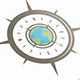 World Compass Logo Template