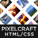 PixelCraft - HTML/CSS Premium Web Template - ThemeForest Item for Sale