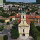 Aerial Church