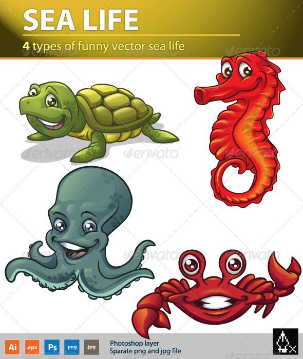 GraphicRiver Sea life 2 180361