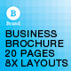 Corporate Report Brochure - A4 and US letter - GraphicRiver Item for Sale
