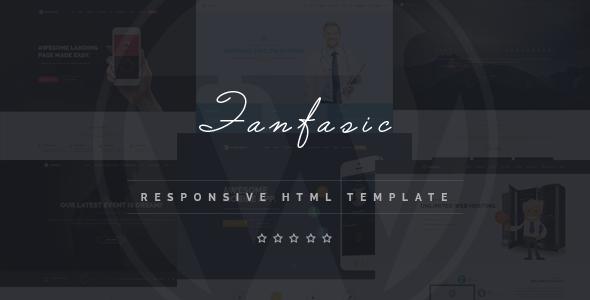 Fantasic - Multipurpose Landing Page Template