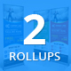 Bundle of 2 Business Rollup Banners