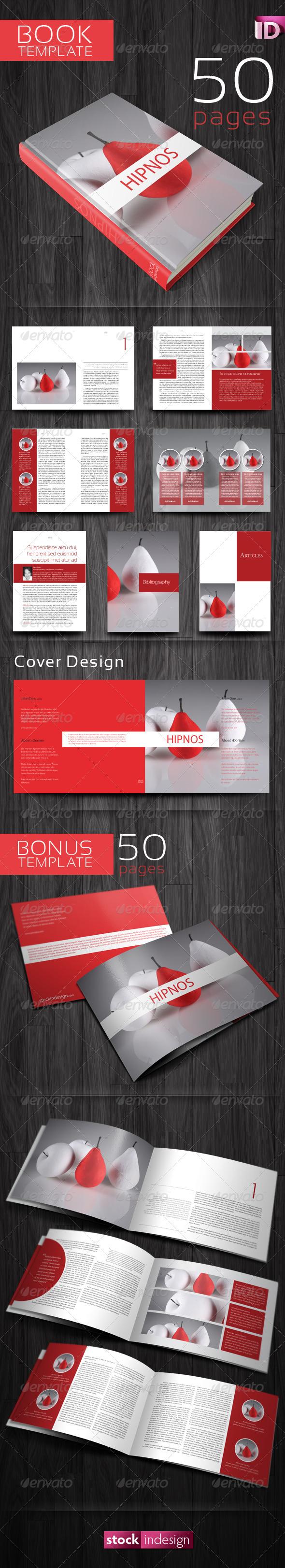 GraphicRiver Book Template Hipnos 243649