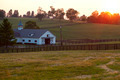 Horse Farm Sunset - PhotoDune Item for Sale